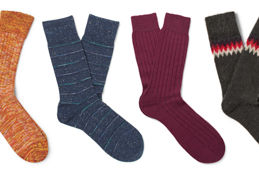 12 of The Best Men's Designer Sock Brands