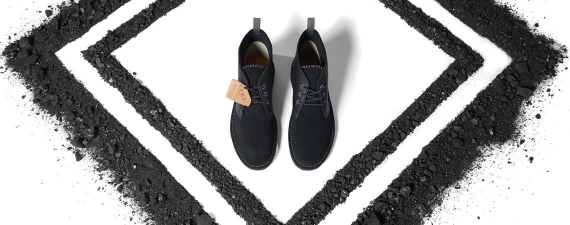 Clarks Originals x END. Desert Coal 'Black Diamond'