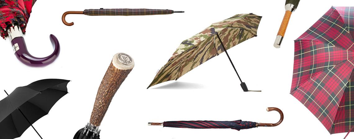 15 of The Best Men's Designer Umbrellas